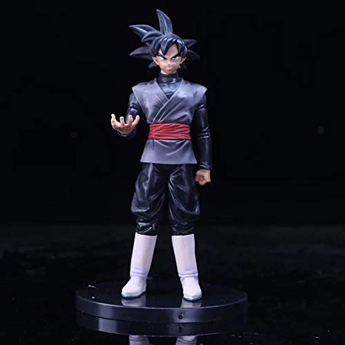 Einzelhandel Großhandel Dragon Ball Z Super Saiyajin Goku Sohn Gokou Boxed PVC Action Figure Modell Sammlung Spielzeug Geschenk, schwarz ohne Box