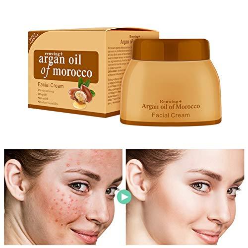 Lucoss Aglycerin Cream Hidratante Reafirmante Lifting Skin Aligera el Color de la Piel Crema Hidratante Antideshidratante para la Cara