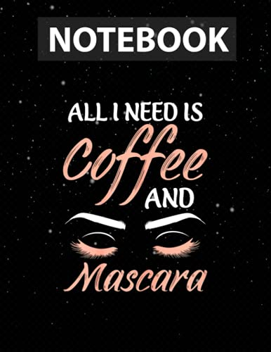 Makeup Design for a Makeup artist Notebook for Girls, Teens and Women | College Ruled, 130 pages, 8.5x11 in