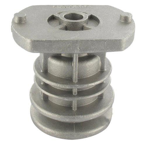 Moyeu de lame pour CASTELGARDEN - MAC GARDA modèles NG464TR / TRE / NG / NGL484 / 534TR /TRE /TD / TDL484 / 534TR / TRE - H: 68mm, alésage central: 22,2mm, Profondeur du puit: 43mm