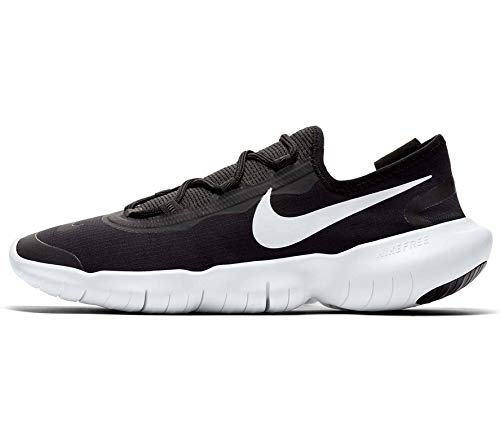 Nike Herren Free Run 5.0 2020 Straßen-Laufschuh, Black/White-Anthracite, 42.5 EU