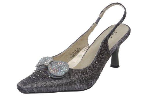 John Fashion , Sandales pour Femme - Gris - Gris, 42 EU (M) EU