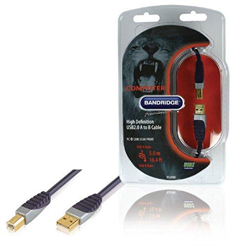Bandridge SCL4105 - Cable USB de A a B
