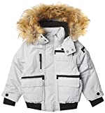Rocawear Boys' Parka Bomber, CEMENT, 4