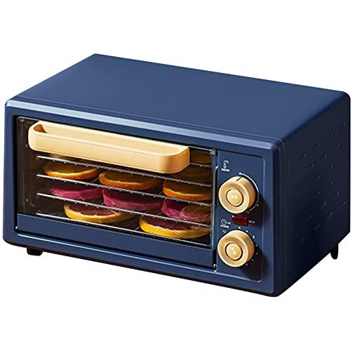 ZLQBHJ Deshidratador de alimentos de 250W, 5 bandejas de apilamiento 30~75 ℃ Ajuste de temperatura ajustable, máx. 12H, máquina deshidratadora for frutas, verduras, carnes y chile