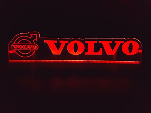 24?V LED Light Neon plaque pour Trucker Camion Rouge illuminant Sign Accessoires de d?coration de table Cabine grav? au laser 24?V/5?W