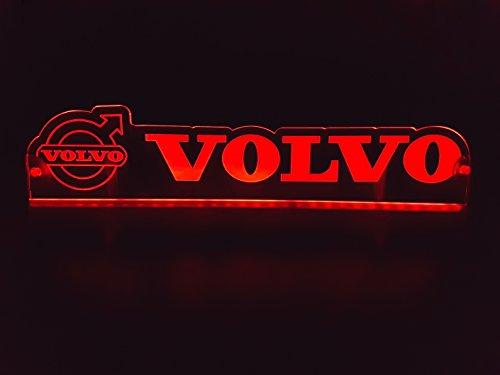 Panneau Lumineux pour d/écoration de Table G/én/érique Plaque Lumineuse LED 24 V avec Logo pour camionnette Cabine Accessoires grav/és 24 V//5 W Camion Blanc