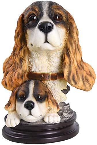 LUNAH Escultura Simulación Artesanía Sala de Estar Moderna Mesa para Perros Estatua Tienda de Mascotas Decoraciones Hogar Creativo Escaparate de TV Mobiliario Simple Adornos escultóricos Decoració