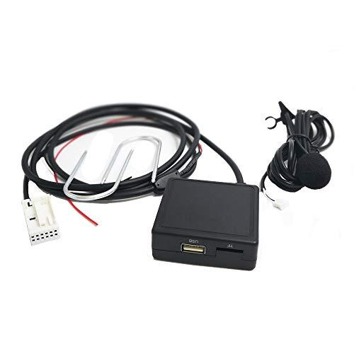 Adaptador Bluetooth AUX para Radio RD4 Citroen C5 C6 C8 C4 C3 C2 Peugeot 207 3070308 407 607 807
