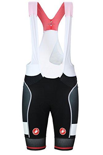 Castelli - Free Aero Race Kit Version Bibshort, color blanco,negro, talla M