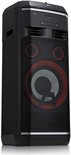 LG OL100 HiFi Party-Anlage XBOOM mit 2000 Watt (CD und Radio, 3X USB, Multi-Bluetooth, Mikrofoneingang)