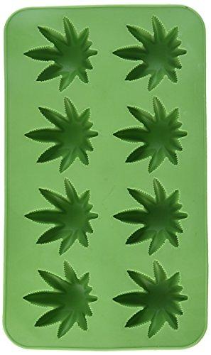 Beistle Marijuana Leaf Silicone Ice Cube mold