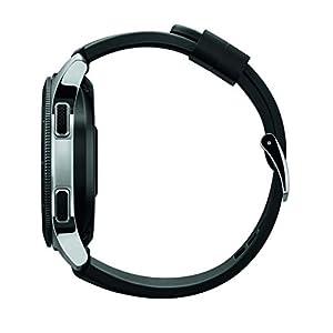 Samsung Galaxy Watch smartwatch (46mm, GPS, Bluetooth, Wifi) – Silver/Black (US Version with Warranty)