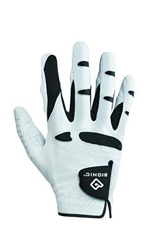 BIONIC Handschuhe–Herren Golfhandschuh StableGrip Golf Handschuh W/patentierte Natürliche Passform Technologie aus Langlebig, robust echtem Cabretta-Leder.