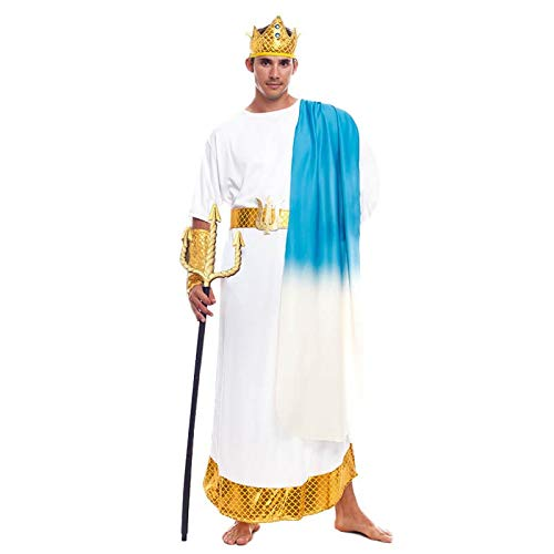 Disfraz Griego Neptuno Hombre (Talla M) (+ Tallas) Carnaval historicos