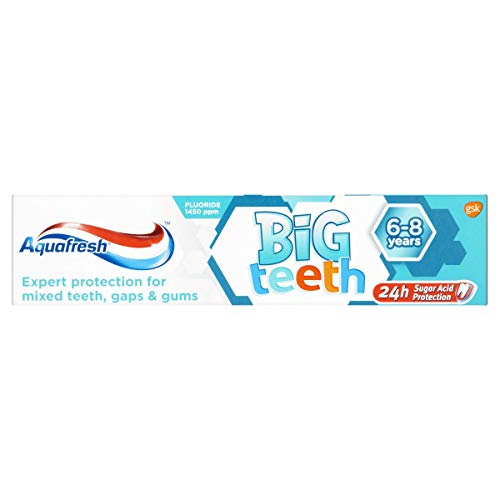Aquafresh Big Teeth Fluoride Toothpaste 50ml