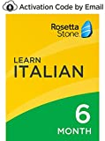 Rosetta Stone: Learn Italian for 6 months on iOS, Android, PC, and Mac [Activation Code by Email]