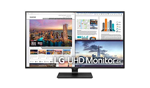 LG 43UD79-B 107,98 cm (42,51 Zoll) UHD 4K IPS Monitor (4x HDMI, USB-Type C, DAS Mode), schwarz