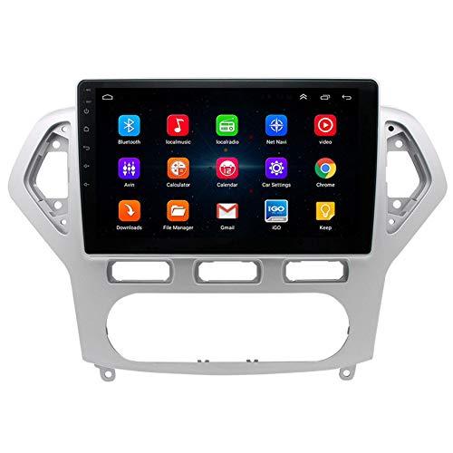 RIYIFER Sistema De Entretenimiento Inteligente para Automóvil,Kit De Modificación De Pantalla De Control Central,Android OS,Adecuado para Ford-Mondeo-Victory 07-11,2G+32G