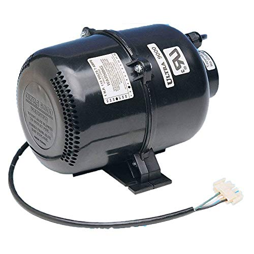 Air Supply 3915131 1.5 HP 120V 7 Amp Ultra 9000 Portable Pool Spa Air Blower