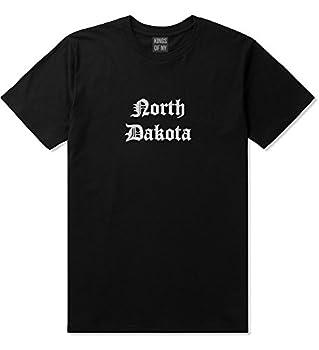 ND North Dakota State Old English Mens T-Shirt XXX-Large Black