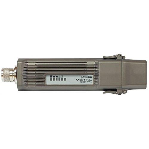 MikroTik RouterBOARD RBMetal5SHPn Metal 5SHPn - Router inalámbrico impermeable (procesador de 400MHz, protección para exterior, armazón de metal industrial, sistema operativo RouterOS Level4, salida de 1,3W)