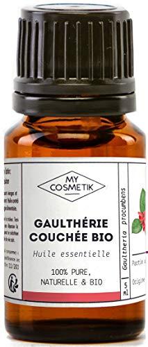Aceite esencial de gaulteria acostada orgánico - MyCosmetik - 10 ml