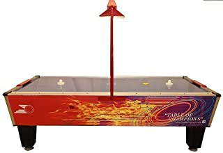 Gold Standard Games Gold Pro Plus Home Air Hockey Table (with Mini Overhead Score Unit)