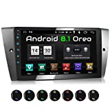 XOMAX XM-90BA Autoradio mit Android 8.1 passend für 3er BMW, 8Core, 2GB RAM, 32GB ROM, GPS Navigation I Support: WiFi WLAN, 3G 4G, DAB+, OBD2 I Bluetooth, 9 Zoll / 22,9 cm Touchscreen, USB