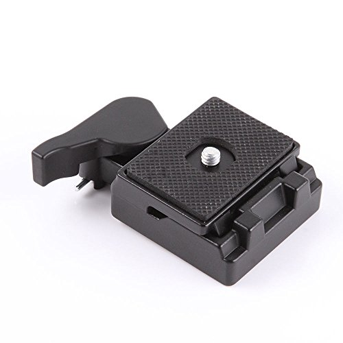 (for Manfrotto 200PL-14) - ZCTL Quick Release Plate Clamp Adapter for Manfrotto 200PL-14 323 RC2 System Tripod