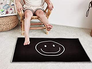 Z Baby Play Mat, Smile Play Mat Baby, Round Non-slip Baby Fitness Carpet Floor Mat Room Decoration Play Mat For Baby for B...