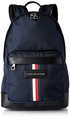 Tommy Hilfiger Uptown Nylon Backpack, Mochila Hombre, Capitán Del Cielo, OS