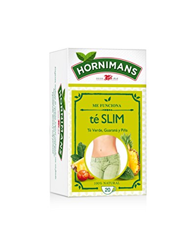 Hornimans - Bolsitas Té Verde, guaraná Y Pina Me Funciona 20 x 1,5 g