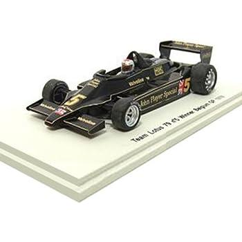【PLANEX COLLECTION/Spark】1/43 ロータス 79 #5 1978 ベルギーGP 優勝 M.アンドレッティ