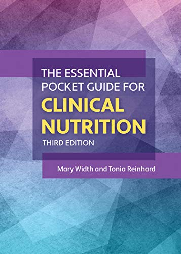 Compare Textbook Prices for The Essential Pocket Guide for Clinical Nutrition 3 Edition ISBN 9781284197839 by Width, Mary,Reinhard, Tonia