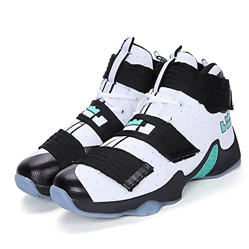 Zapatos de Baloncesto de Alta Gama Zapatos de Hombre Botas High Zapatos de Running Zapatillas Deportivas para Estudiantes