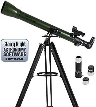 Celestron ExploraScope 60AZ 60mm f/12 Alt-Az Refractor Telescope