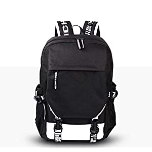 41Uyxnv4dwL. SS300  - A-gavvzw Mochila De Anime Cosplay Bookbag College Bag Daypack Mochila para Computadora Portátil Mochila Escolar Dragon…