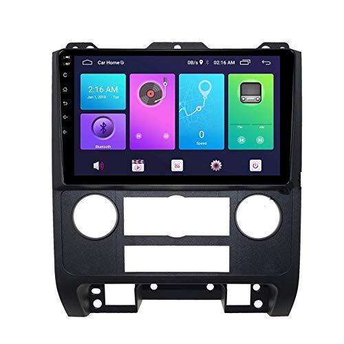 Navegación por satélite Android 10.0 Estéreo para automóvil, compatible con radio MAZDA Tribute 2007-2012 Navegación GPS Unidad principal de 9 pulgadas Reproductor multimedia MP5 Receptor de video Ra
