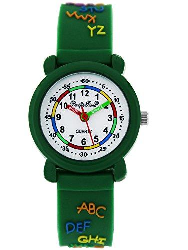 Pacific Time Kinderuhr analog Quarz mit Silikonarmband 86295