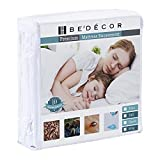 Bedecor Zippered Encasement Breathable Smooth,Deep up to 9' , Applicable to Home Hotel RV Hospital- Twin Size