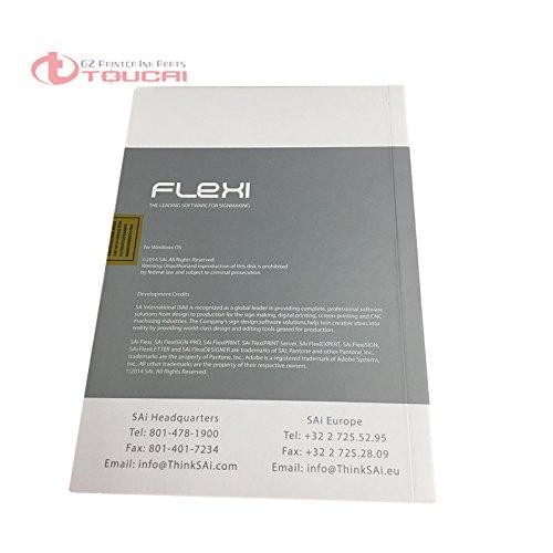 La original para Teneth plotter de corte EFS FlexiStarter contorno ...