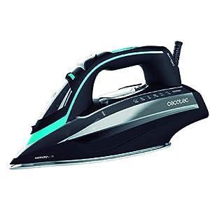 Cecotec Plancha de Vapor 3D ForceAnodized 750 Smart. 3100W. Golpe de Vapor 200 g/min. Doble Suela Anodizada. Pantalla LCD. Vapor Continuo 65 g/min. Antical. Autoapagado. Modo Eco. Depósito 400 ml.