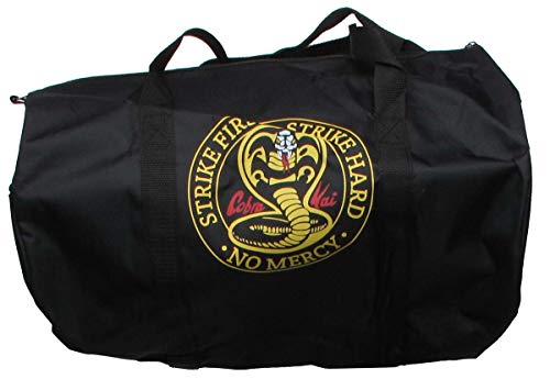 Cobra Kai Karate Kid Costume Workout Kit Black