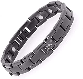 Titanium Magnetic Therapy Bracelet Pain Relief Arthritis and Carpal Tunnel with Adjust Tool 4 Color