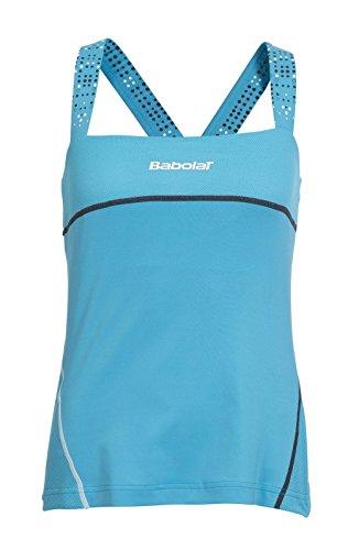 Babolat Match Performance-Camiseta de Tirantes para Mujer, Color Azul, Talla 140