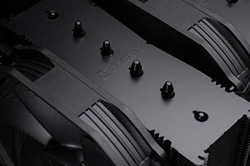 Noctua NH-D15 chromax.black, Disipador de CPU de Doble Torre (140 mm, Negro) 6