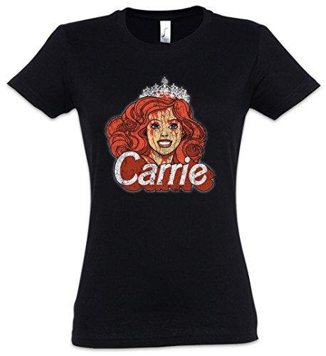 Urban Backwoods Carrie Puppet Mujer Girlie Women T-Shirt – Fun Crossover Shirt Tamaños XS – 2XL