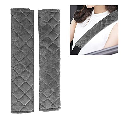2 uds, Funda suave para cinturón de seguridad para coche, fundas universales para cinturón de seguridad para coche, protector de cojín para hombros, cinturones de seguridad, protección para hombros