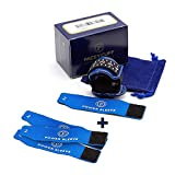 Pacey Cuff Ultra and Power Sleeve Bundle, Incontinence Products for Men, Male Incontinence Clamp with Complete Accessory Kit and 3 Additional Protective Sleeves, Medium